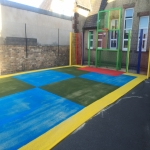 Painting Multi Sport Surfaces in Aston Fields 3