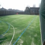 Painting Multi Sport Surfaces in Little Stainforth 3
