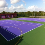 Polymeric Sport Surfacing in Abertysswg 3