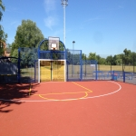 Polymeric Sport Surfacing in Bream's Meend 1