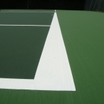 Painting Multi Sport Surfaces in Little Stainforth 4