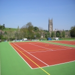 Painting Multi Sport Surfaces in Aston Fields 11