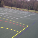 Painting Multi Sport Surfaces in Belthorn 4