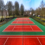 Polymeric Sport Surfacing in Bream's Meend 12
