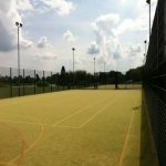 Painting Multi Sport Surfaces in Blacon 10