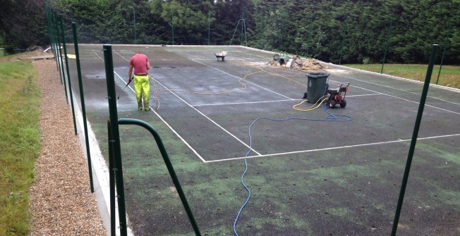 Sports Surface Maintenance in Achfary