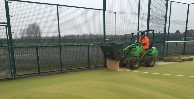 Installing 2G Artificial Turf in Ablington