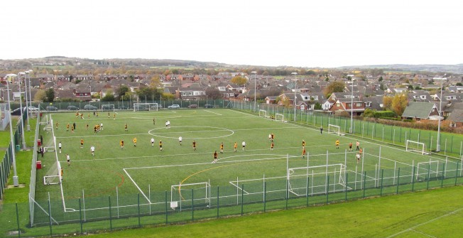 4G Sports Pitches in Abercanaid