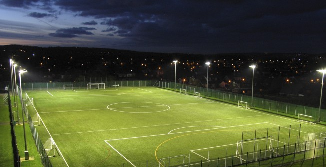 3G Artificial MUGA in Abington