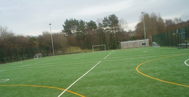 Multi Use Games Area in St Ninians