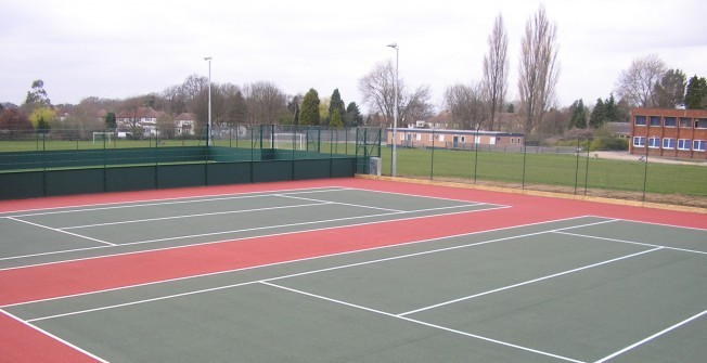 Macadam Sports Pitch in Surrey