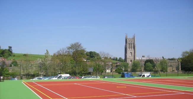 Tarmac MUGA Surfaces in Abbey