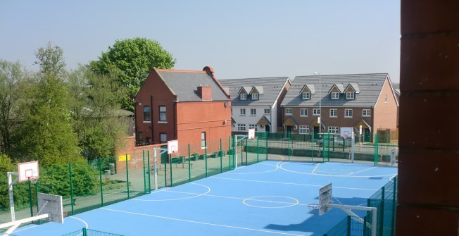 MUGA Court Builders in Abertridwr