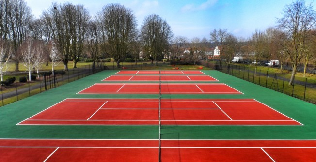 Coloured Sports Coatings in Blacon