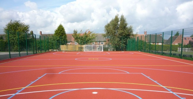 Polymeric Sports Surfaces in Aberaeron